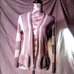 Pink republic open cardigan size small
